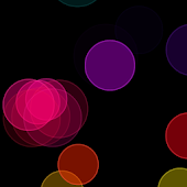 Rainbow Circles Live Wallpaper