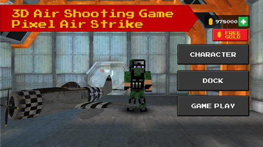 Pixel Air Strike -Battle Pixel