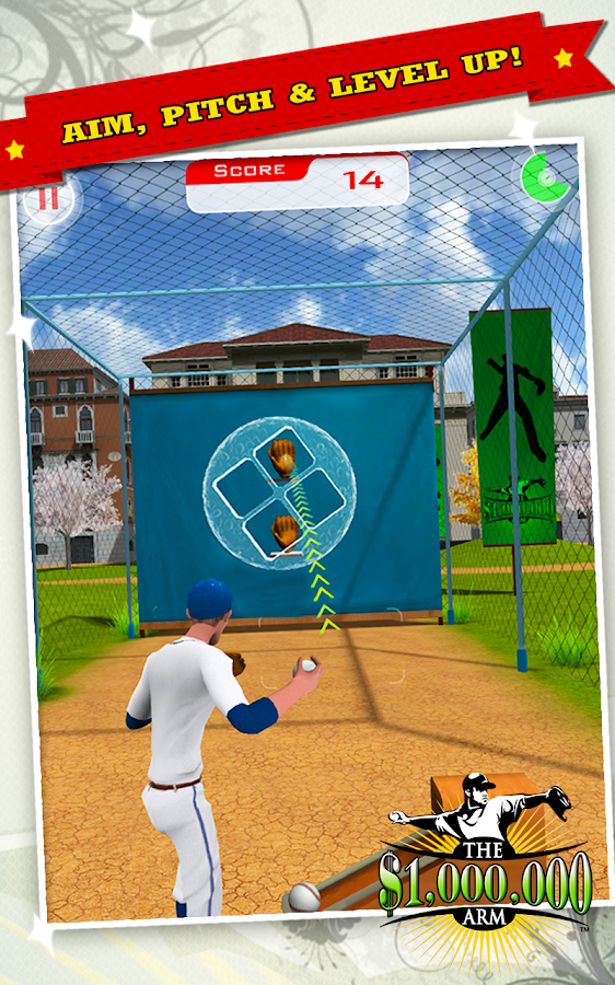Million Dollar Arm Game- screenshot