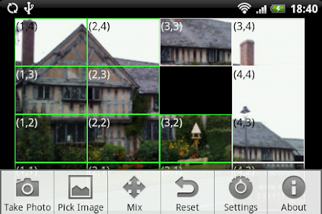 Sliding Picture Puzzle - screenshot thumbnail