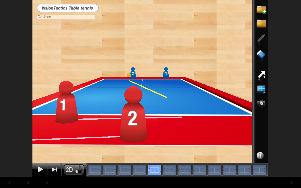 VisionTactics TableTennis- screenshot