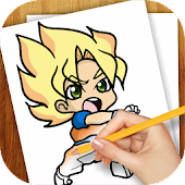 Download Learn To Draw Dragon Ball Z APK to PC