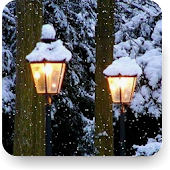 Snow Fall Live Wallpaer