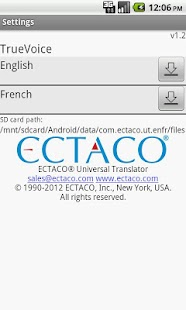 English - French Translator- screenshot thumbnail