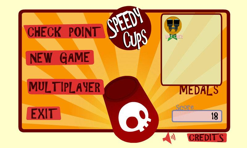 Speedy Cups Free - screenshot
