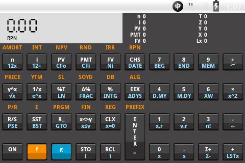 HP12c Financial Calculator Dem