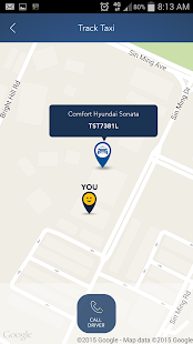 ComfortDelGro Taxi Booking App- screenshot thumbnail