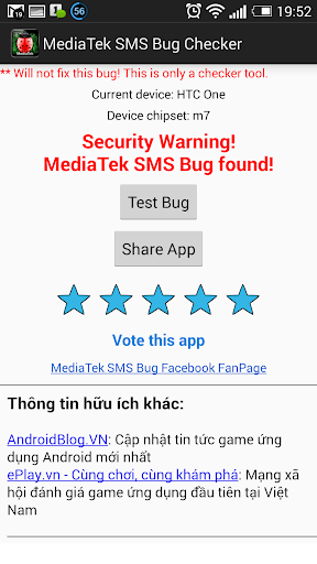 MediaTek Bug Checker