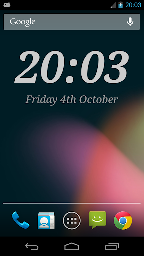 [APP][Widget] Digital Clock Widget Xperia™ 3… | Android ...