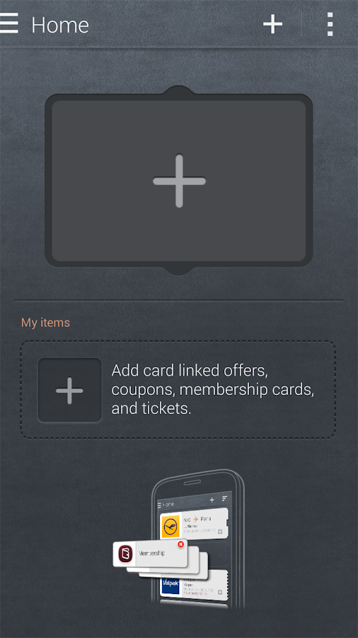 Samsung Wallet - screenshot