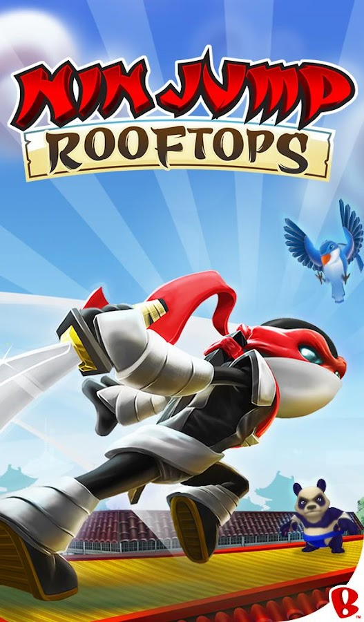 NinJump Rooftops- screenshot