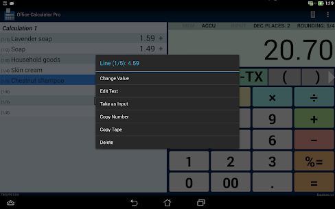 Office Calculator 5.2.4 [Pro Unlocked] MOD Apk 8