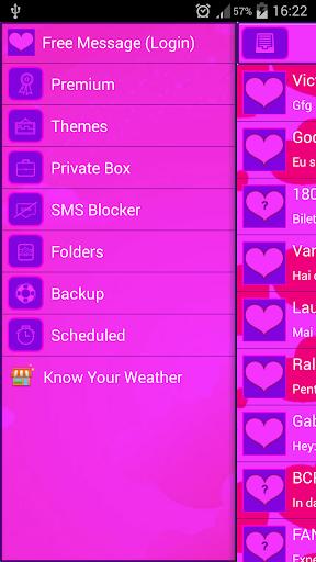 GO短信加强版粉色