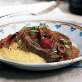 Grillades and Gravy over Grits