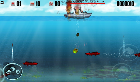 Battleship vs Submarine- screenshot thumbnail