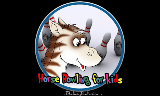Horse bowling for kids