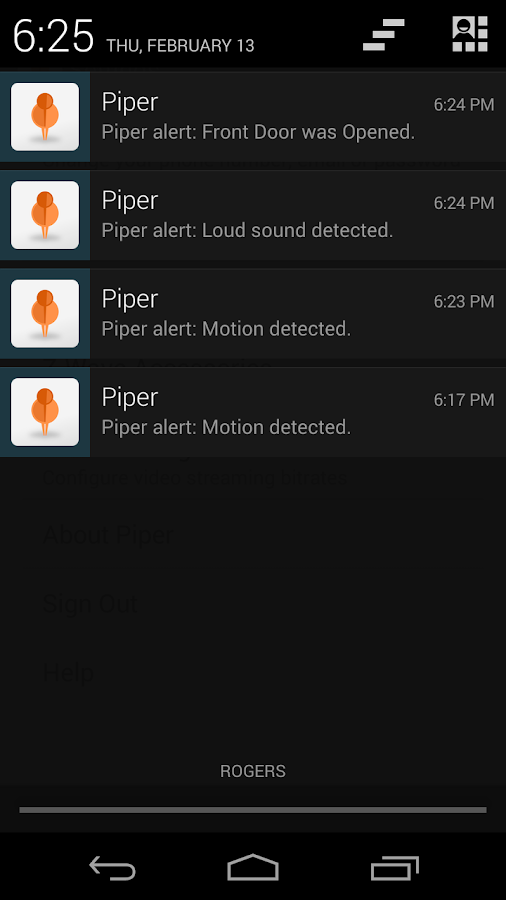 Piper Mobile - screenshot