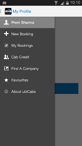 ubiCabs -Book taxis minicabs