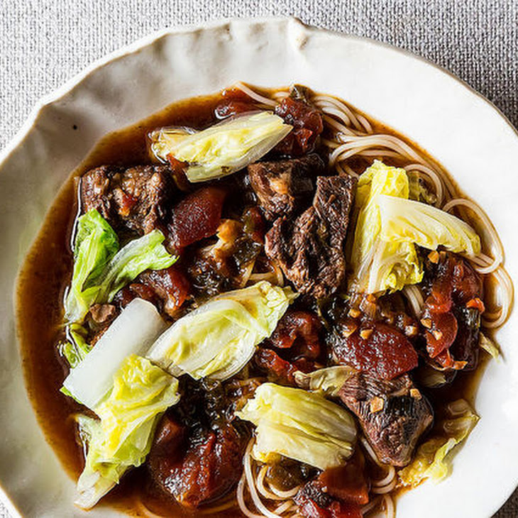 My Mom's Taiwanese Beef Noodle Soup