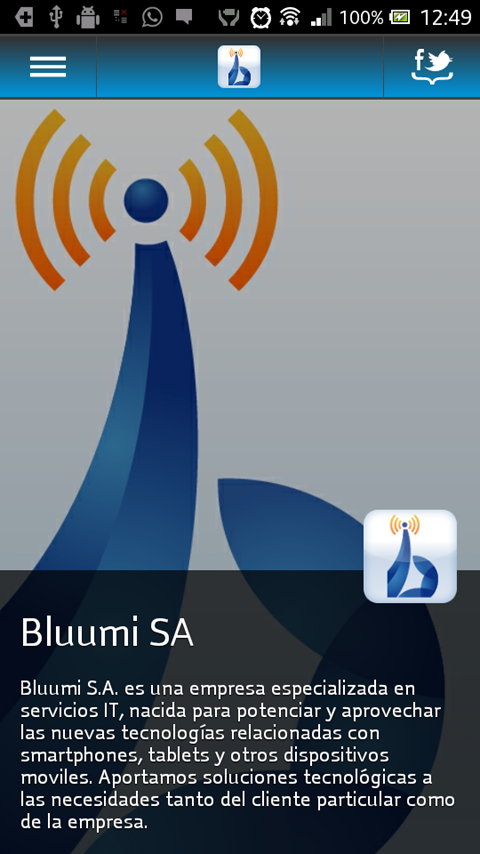 Bluumi - screenshot