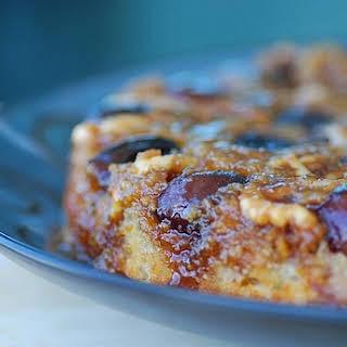 Fresh Fig, Walnut, and Rosemary Upside-Down Cake.