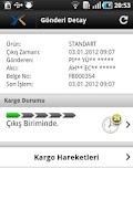 Screenshot of Yurtiçi Kargo