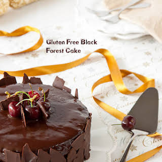 Gluten Free Black Forest Cake.