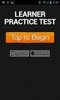 Screenshot of Learners Practice Test | QLD