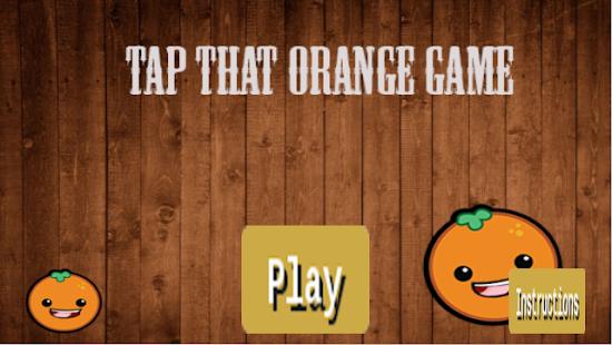Tap That Orange Game