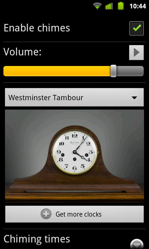 Westminster T. for Chime Time - screenshot