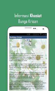 Budidaya Bunga Krisan - screenshot thumbnail