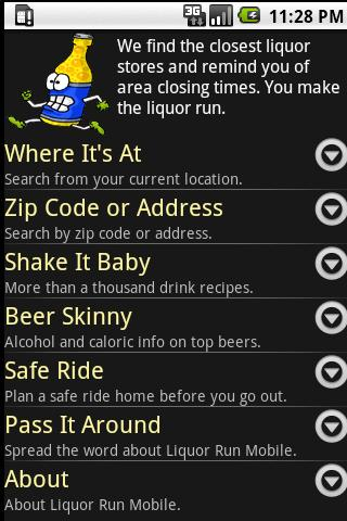 Liquor Run Mobile - screenshot
