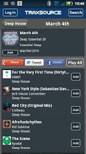 Traxsource - screenshot thumbnail