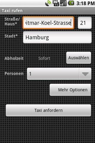 Taxi-Annaberg Button- screenshot