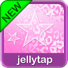 Pink Leopard Go SMS Star Theme icon
