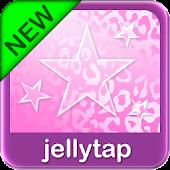 Pink Leopard Go SMS Star Theme
