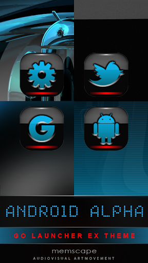 GO Theme Android Alpha