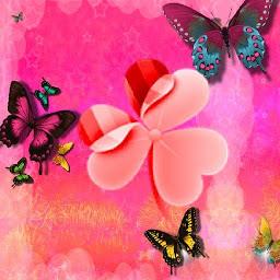 ランチャーEXテーマピンクかわいいGO