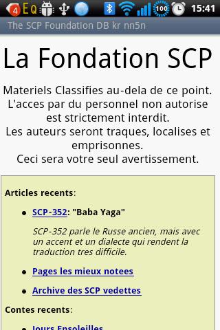 The SCP Foundation DB f nn5n L