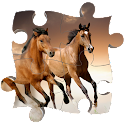 Horses Jigsaw Puzzles game icon