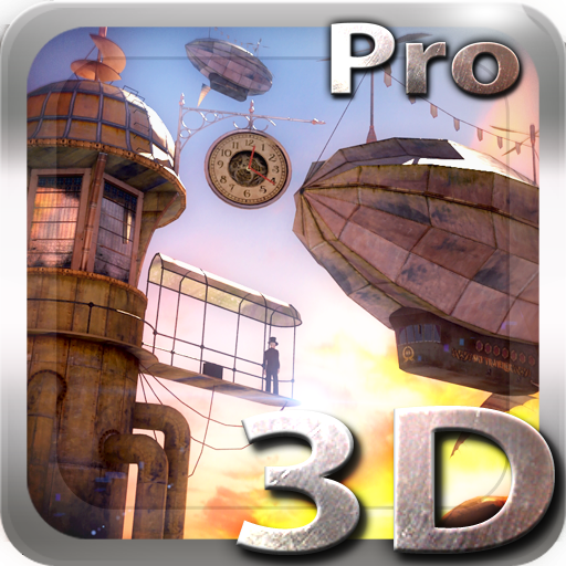 3D Steampunk Travel Pro lwp app for Android