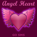 Dark Angel heart for GO SMS icon