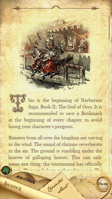 Narborion 2: The God of Orcs- screenshot