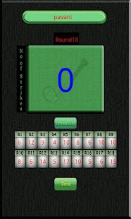 Golf Scoreboard - screenshot thumbnail