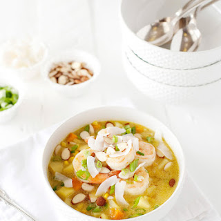 Curried Shrimp and Corn Chowder Recipe