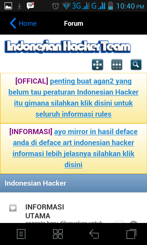 Indonesian Hacker- screenshot