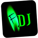 fireTheDJ (needs Adobe AIR) logo