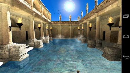 Roman Bath 3D Live Wallpaper APK screenshot thumbnail 9