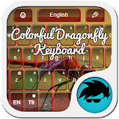 Colorful Dragonfly Keyboard