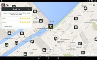 Screenshot of mytaxi – The Taxi App